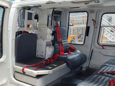 Helicopter Door and Seating Parts